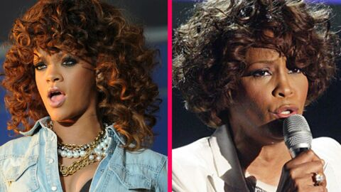 Rihanna aimerait incarner Whitney Houston dans un biopic