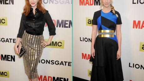 PHOTOS Christina Hendricks, January Jones chic et sexy pour la nouvelle saison de Mad Men