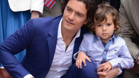 DIAPO Etoilé, Orlando Bloom se fait voler la vedette par son fils Flynn