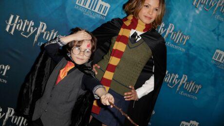 PHOTOS Séverine Ferrer joue à la sorcière à l'expo Harry Potter