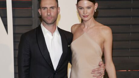 PHOTO Adam Levine : Fier du ventre de Behati Prinsloo, il confirme sa grossesse