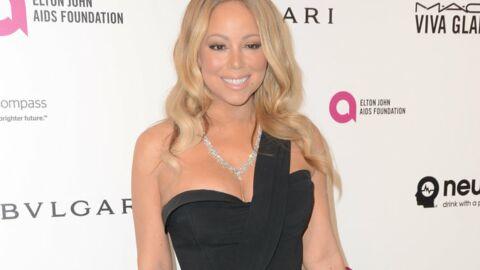 PHOTO Dans une robe beaucoup trop courte, Mariah Carey montre sa culotte