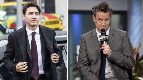 Justin Trudeau propose un duel à Matthew Perry, qui l'avait chahuté dans son enfance