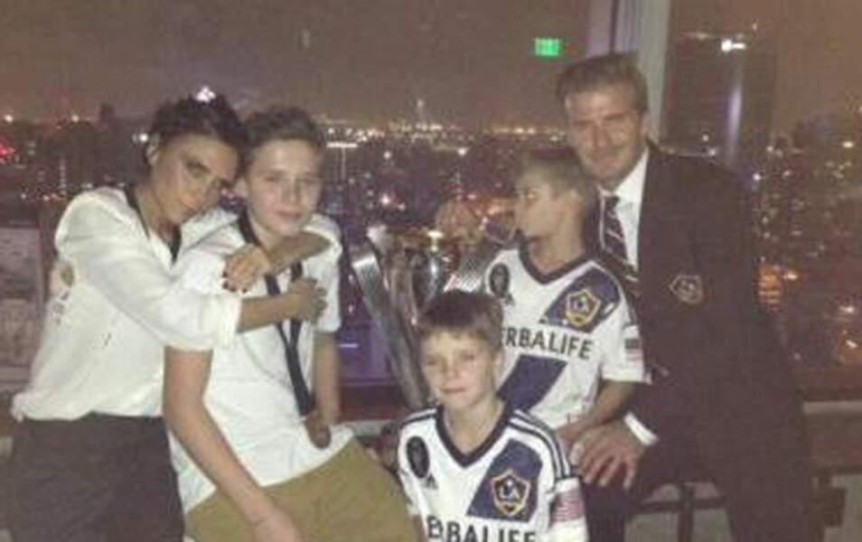 Victoria, Brooklyn, Romeo, Cruz, David Beckham