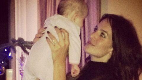 La fille de Jade Foret et Arnaud Lagardère en photos sur Instagram