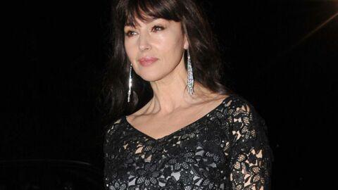 PHOTOS Monica Bellucci très glamour pour une exposition Cartier