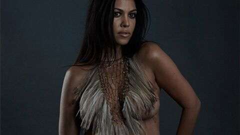 Encore une Kardashian toute nue sur Internet, mais cette fois-ci c'est Kourtney