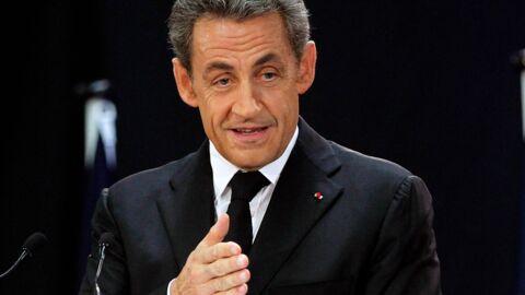 Nicolas Sarkozy se moque de Laurent Delahousse lors d'un discours