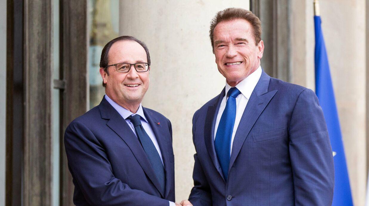 Arnold Schwarzenegger envoie un gentil message à François Hollande