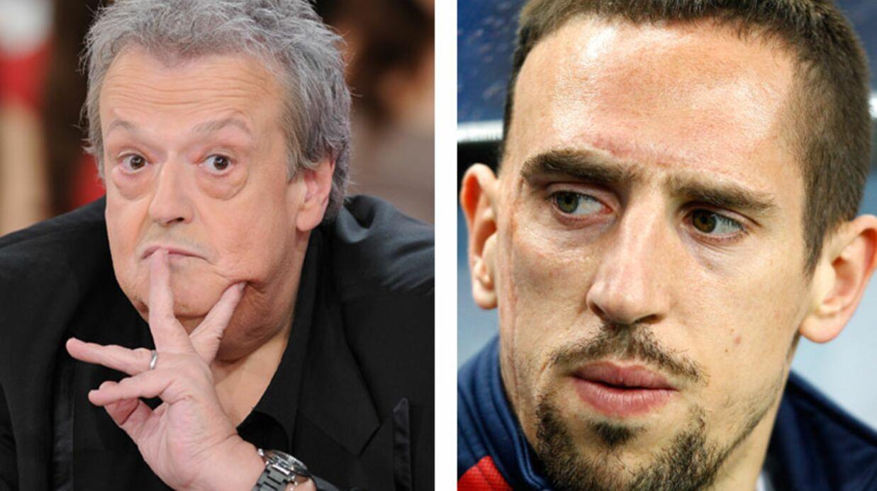 Franck Ribéry attaque Guy Carlier pour injures