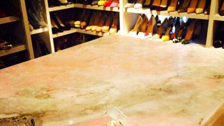 Blake Lively dévoile sa monumentale armoire à chaussures