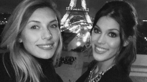 PHOTO Iris Mittenaere (Miss France 2016) fait une belle déclaration à «sa sœur», Camille Cerf