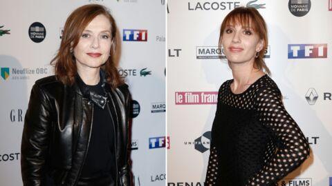 PHOTOS Isabelle Huppert et sa fille Lolita Chammah radieuses aux Trophées du film français