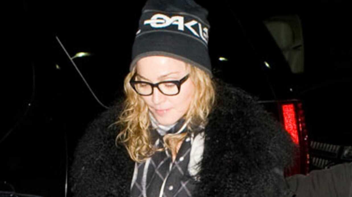 Madonna voyage en 1ère classe… ses enfants en business