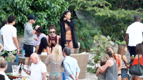 PHOTOS Rihanna, coup de fatigue à Saint Barth !