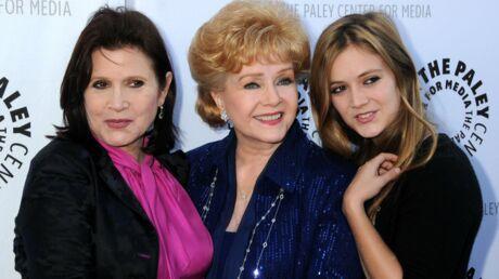 PHOTO Carrie Fisher: sa fille Billie Lourd brise le silence après la mort de sa mère et de sa grand-mère