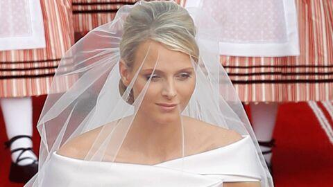 VIDEO Charlene Wittstock: un grand moment d'émotion à la chapelle Sainte Dévote