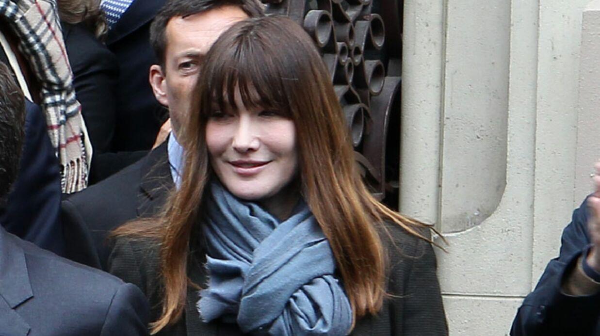 Carla Bruni-Sarkozy réfute les rumeurs de grossesse