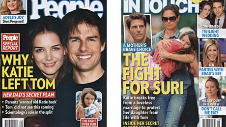 En direct des US : les détails de la rupture Tom Cruise – Katie Holmes