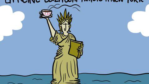 Louison a croqué: Elizabeth II s'offre un GROS pied-à-terre à New York