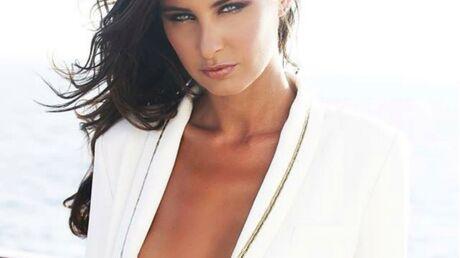 photo-malika-menard-tres-sexy-avec-sa-veste-blanche-et-rien-en-dessous