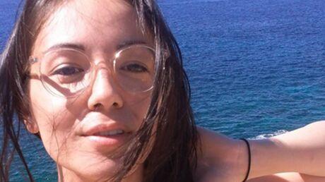 PHOTO Agathe Auproux: en vacances, elle laisse entrevoir un sein