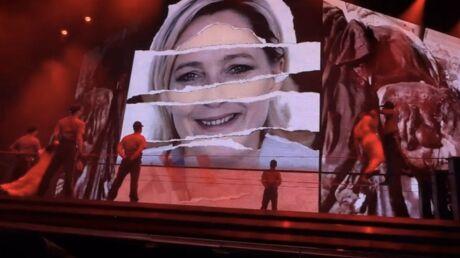 Marine Le Pen comparée à Hitler: elle attend Madonna au tournant