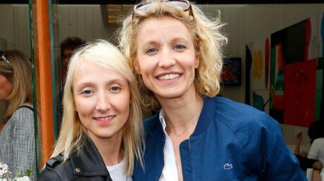 DIAPO Alexandra et Audrey Lamy, sortie entre sœurs à Roland-Garros