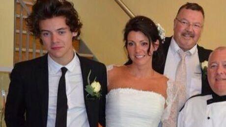 PHOTOS Harry Styles témoin au mariage de sa mère