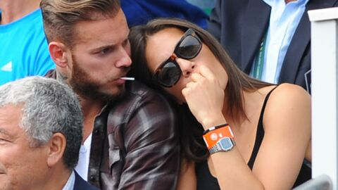 PHOTOS M Pokora amoureux à Roland Garros