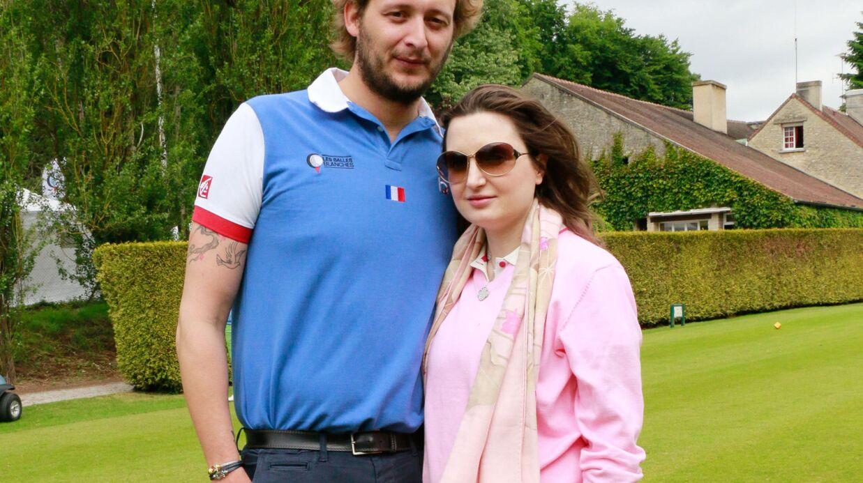 PHOTOS Amaury Leveaux et sa compagne enceinte, David Ginola et sa famille au golf pour la bonne cause