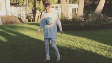 VIDEO Justin Bieber jongle avec Neymar et c'est pas mal