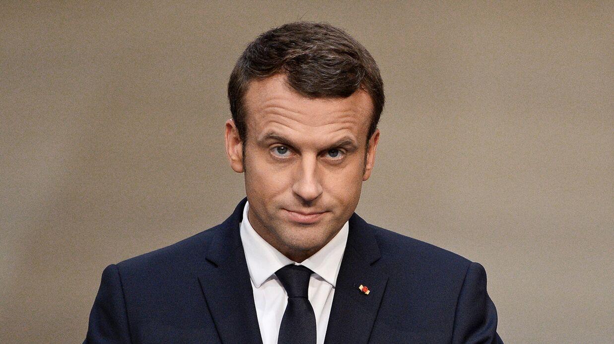 Emmanuel Macron: sa blague fait polémique