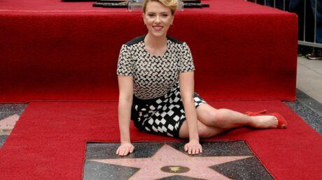 PHOTOS Scarlett Johansson a son étoile sur Hollywood Boulevard