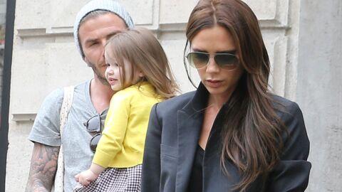 DIAPO Victoria et David Beckham: session shopping à Paris avec Harper