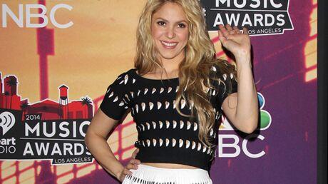 PHOTOS Shakira: grosse faute de goût pour une cérémonie