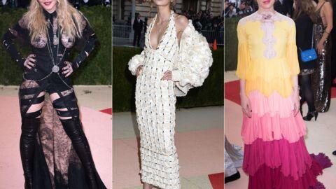 PHOTOS MET 2016: la tenue scandaleuse de Madonna, Lily-Rose Depp craquante, Charlotte Casiraghi ravissante