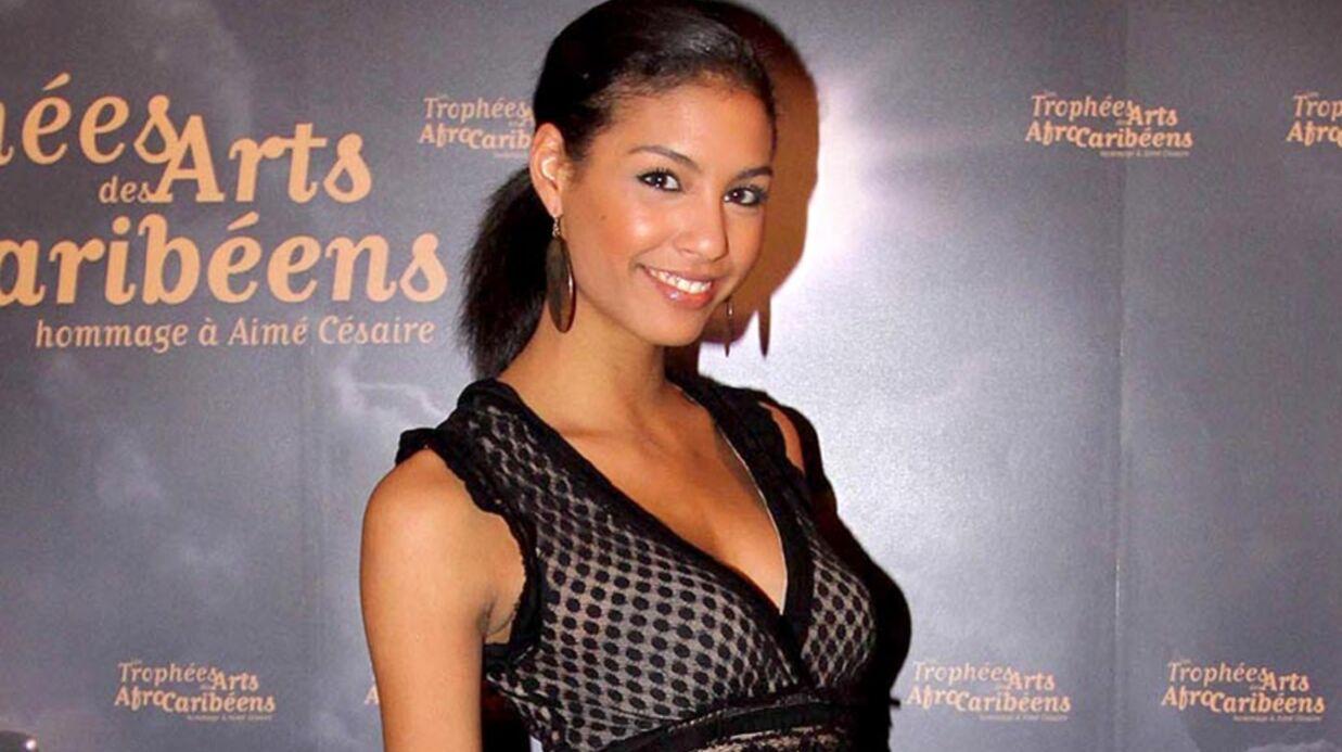 Les première images du bébé de Chloé Mortaud, Miss France 2009