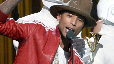 Pharrell Williams: son chapeau bizarre vendu pour une fortune