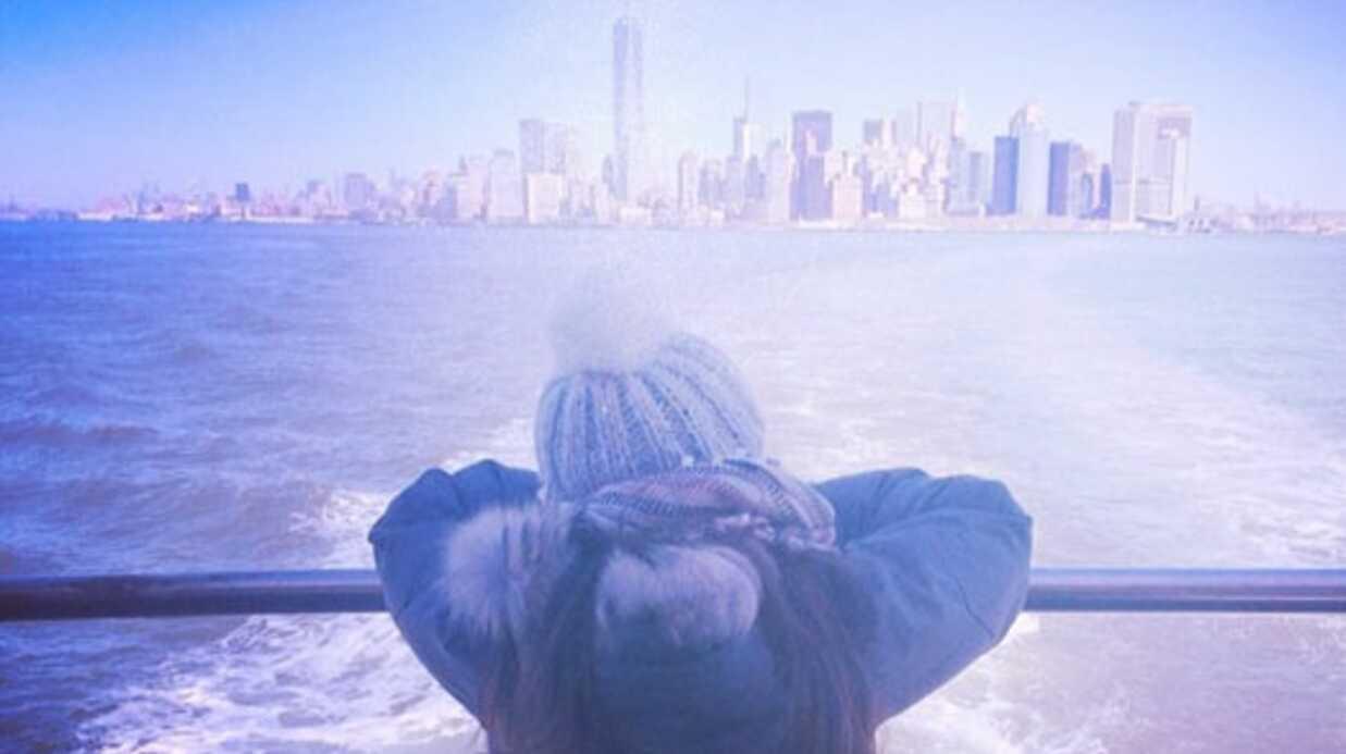 PHOTOS Alizée en vacances avec sa fille et Grégoire à New York