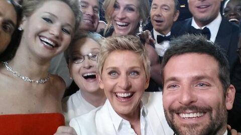 Brad Pitt, Bradley Cooper, Julia Roberts… posent pour le selfie le plus retweeté de l'histoire
