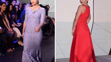 PHOTOS Priscilla Betti mannequin pour Christophe Guillarmé à la Fashion Week