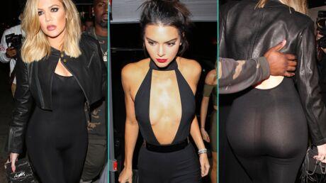 PHOTOS Kendall Jenner fête son anniversaire avec un décolleté de folie, Khloé Kardashian montre tout!