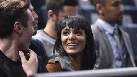 PHOTOS Shy'm soutient son chéri tennisman au tournoi de Bercy