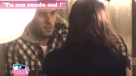 VIDEO Secret Story 5: Zelko embrasse Aurélie pour de vrai
