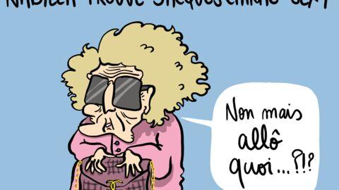 Louison a croqué: Nabilla trouve Jacques Chirac «sexy»