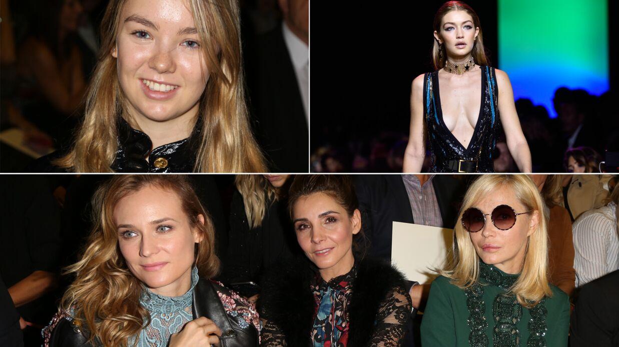 PHOTOS Fashion week Alexandra de Hanovre ravissante, Gigi Hadid incendiaire pour Elie Saab