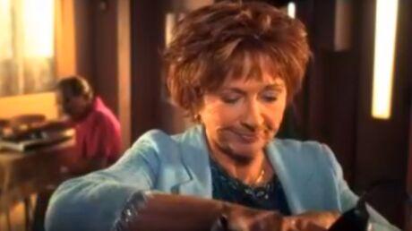Marion Game, Huguette de Scènes de ménage, est amoureuse mais vit seule