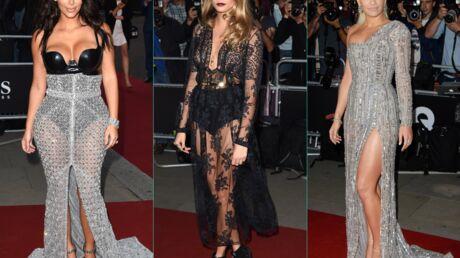 PHOTOS Kim Kardashian, Cara Delevingne et Rita Ora ultra sexy aux GQ Men of the Year