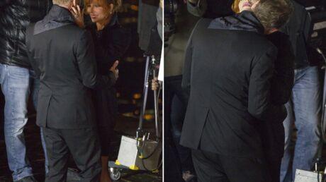 PHOTOS Mylène Farmer et Sting complices pour le tournage de leur clip à Paris